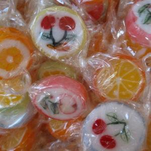 Sucette Lollipop aux fruits