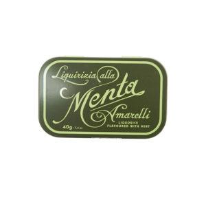 Boîte de réglisse à la menthe Amarelli