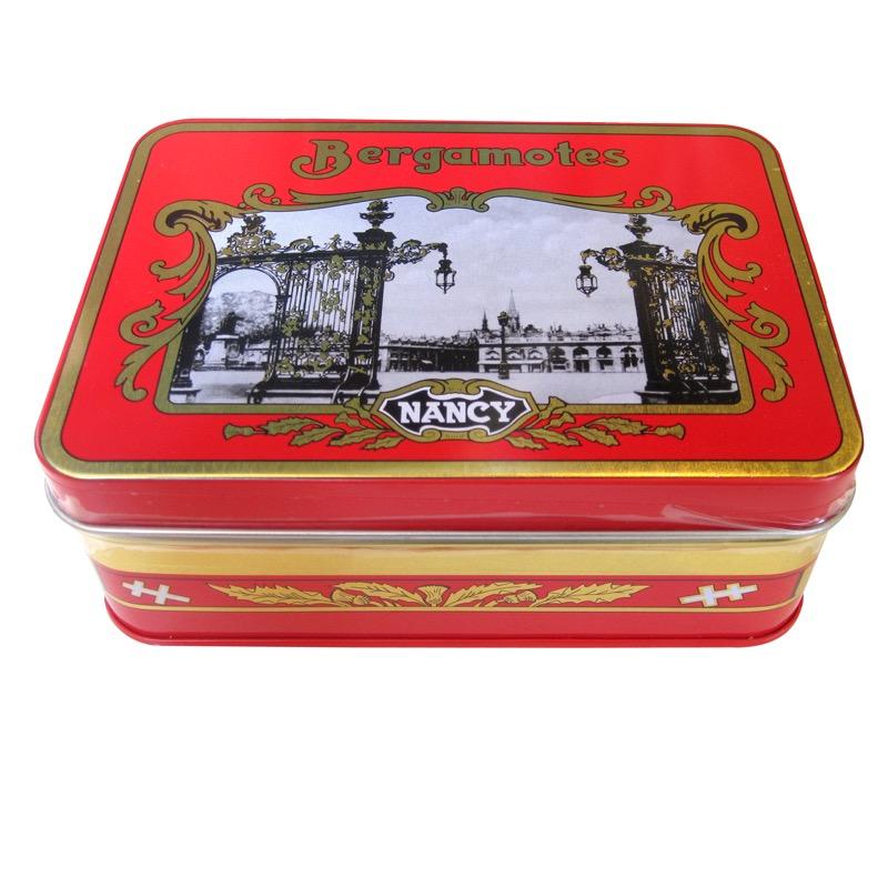 boîte bonbon bergamote Nancy agrumes savoir faire tradition