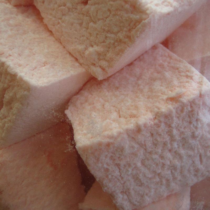 guimauve rose sucre artisanal régressif enfance