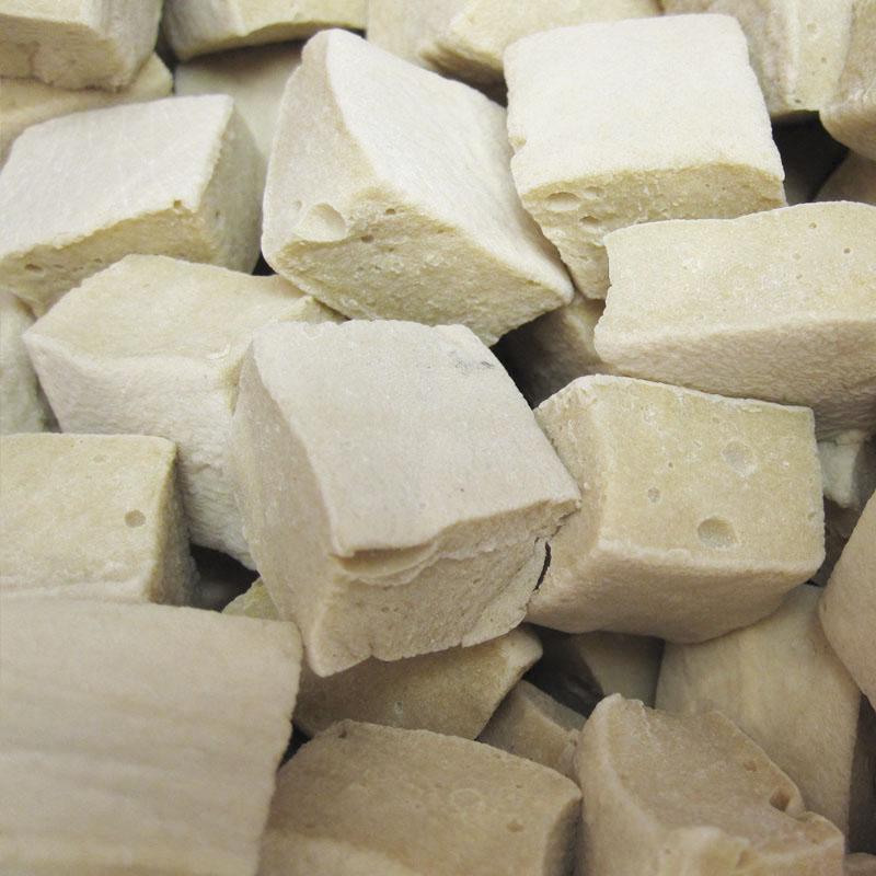 pâte de Lichen vanille cube français gomme arabique vegan