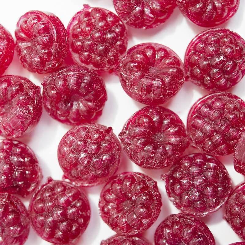 bonbon fruit framboise fourrée régressif enfance