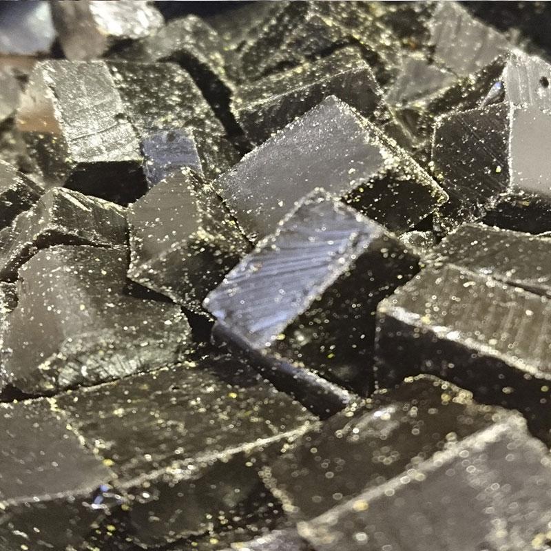 réglisse cube jujube gomme arabique artisanal vanille