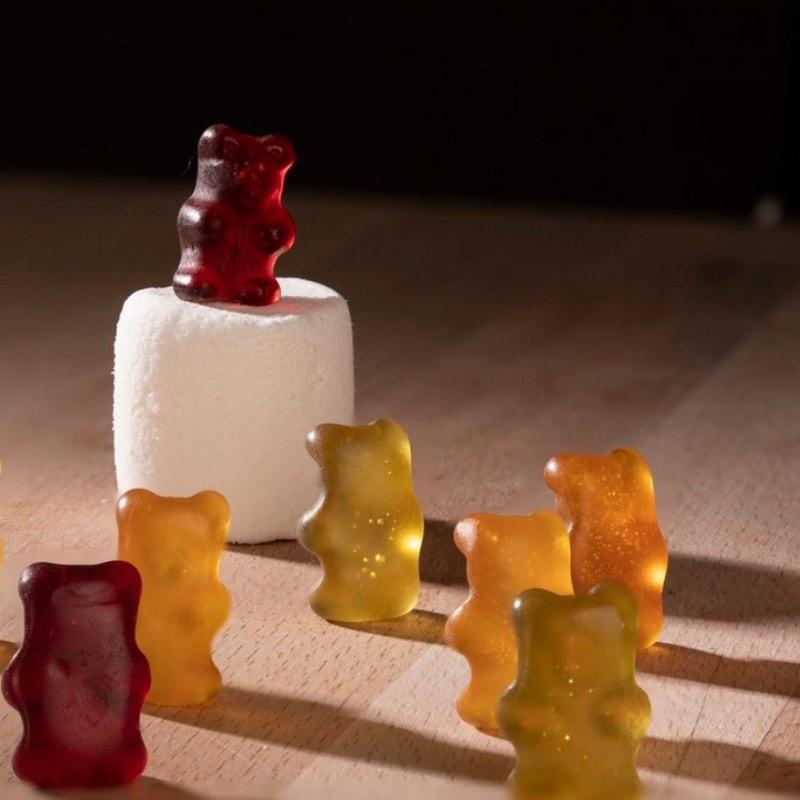 Bonbons oursons biologiques et Vegan.