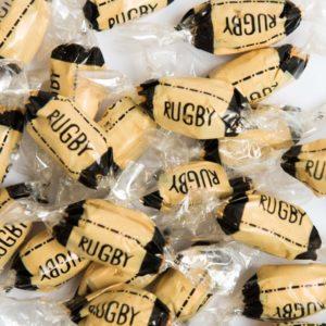 Caramel ballon de Rugby