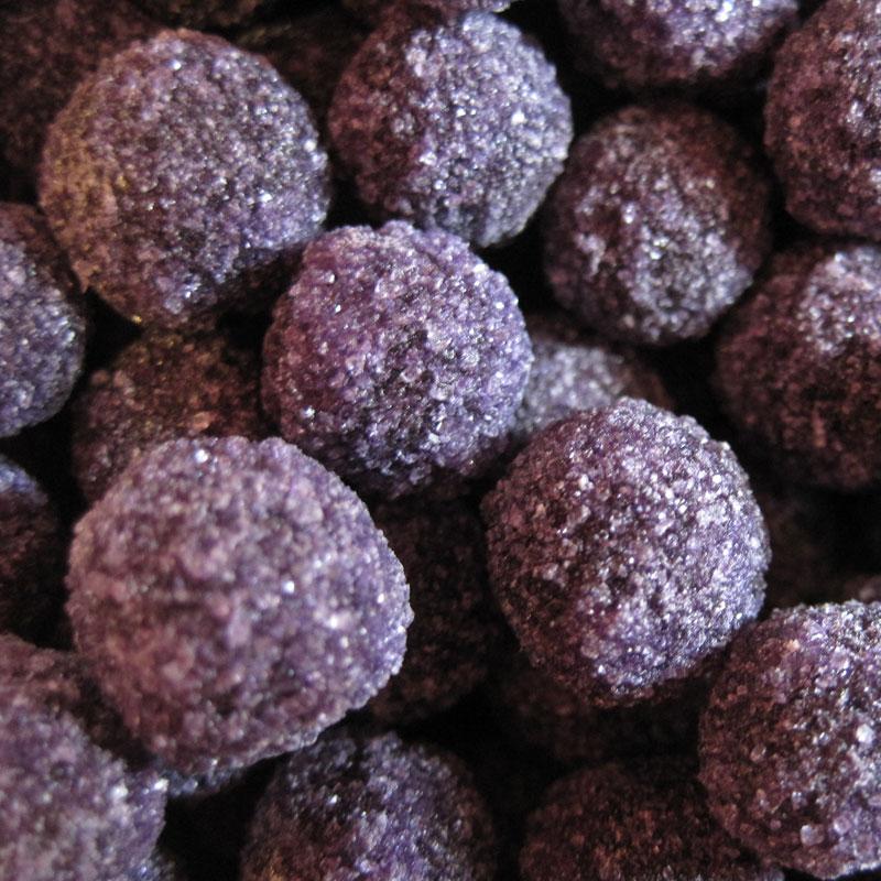 perles à la violette bonbon français artisanal