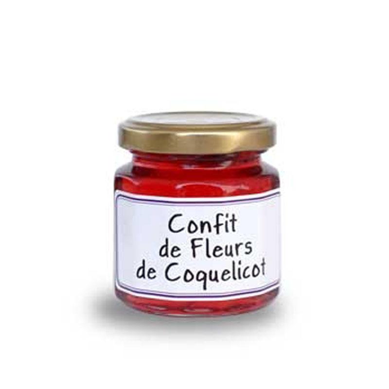 Confiture de fleurs de coquelicot français artisanal