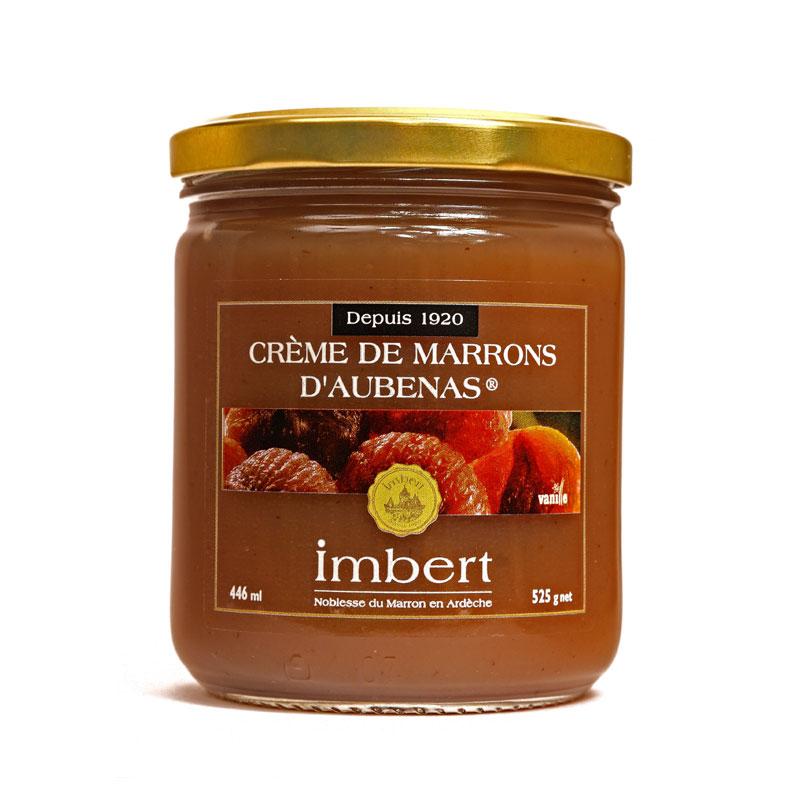 crème de marrons au sirop de vanille