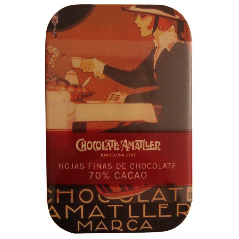 Chocolat noir Amatller.