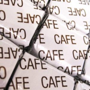 Caramels au café.