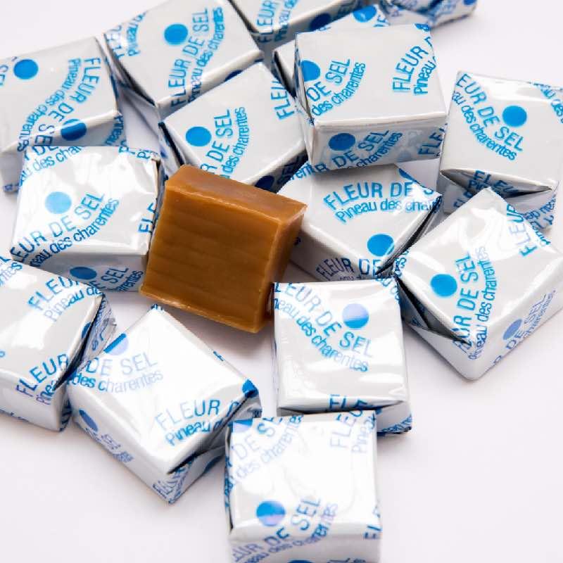 caramel à la fleur de sel tendre confiserie artisanale lyon