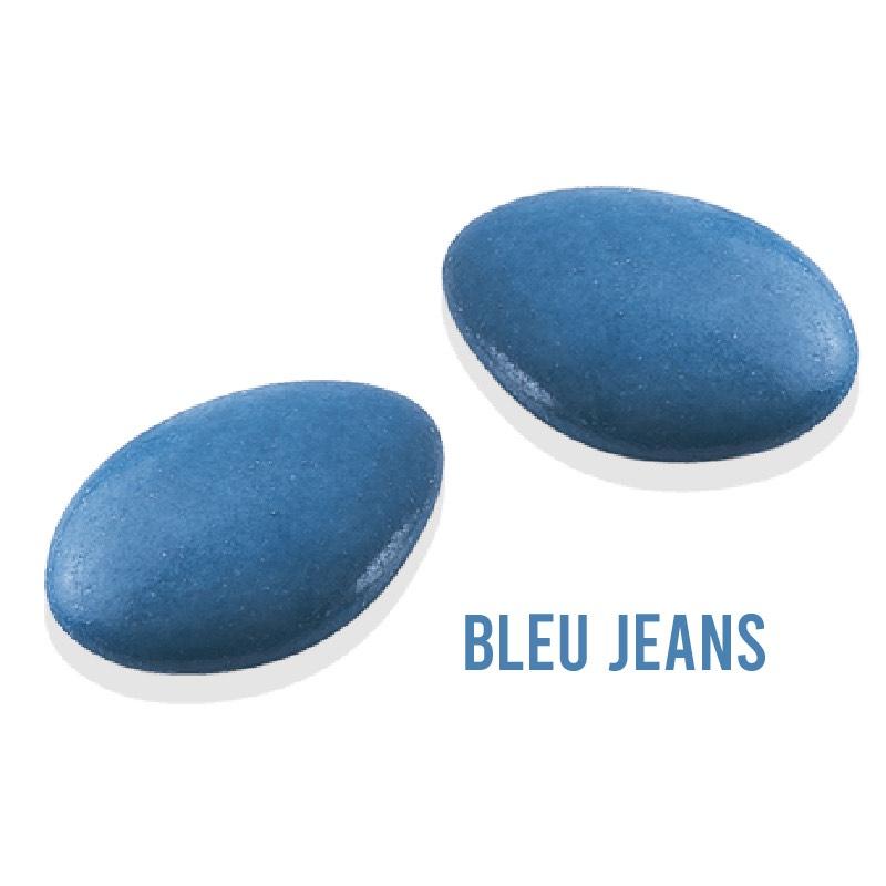 cadeau mariage bleu jean français souvenir