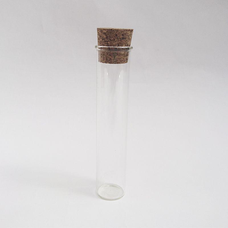 eprouvette en verre bouchon liege contenant dragées mariages