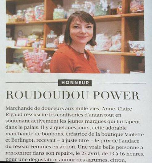 Madame figaro article acheter bonbons en ligne, confiserie d'antan