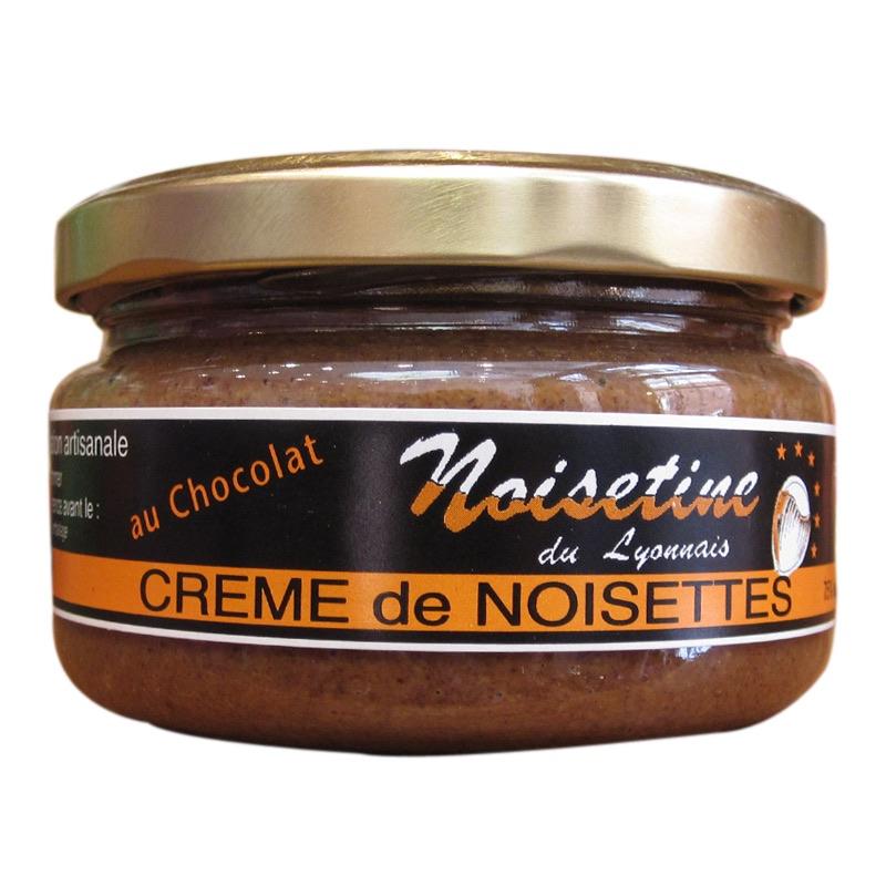 Crème de noisettes au chocolat.