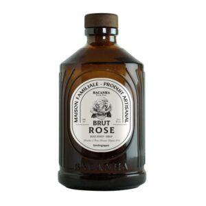 Sirop de rose Bacanha bio lyon