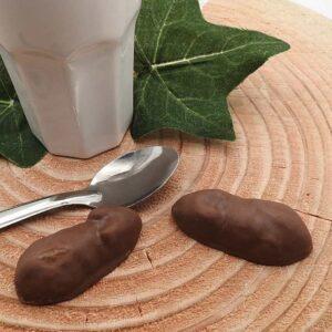 Guimauve souris au caramel et chocolat