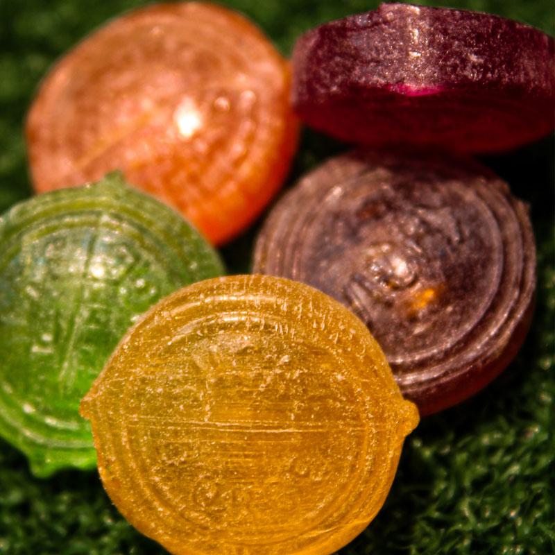 bonbons fruits sucre d'orge de vichy enfance tradition