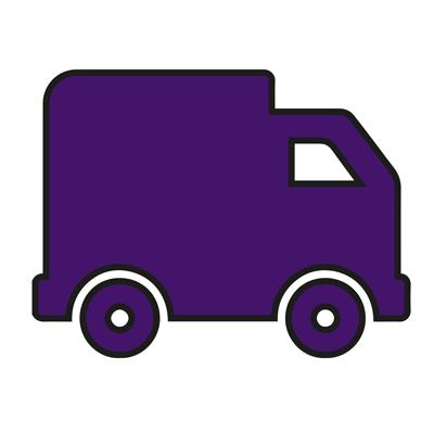 Icône d'un camion de livraison