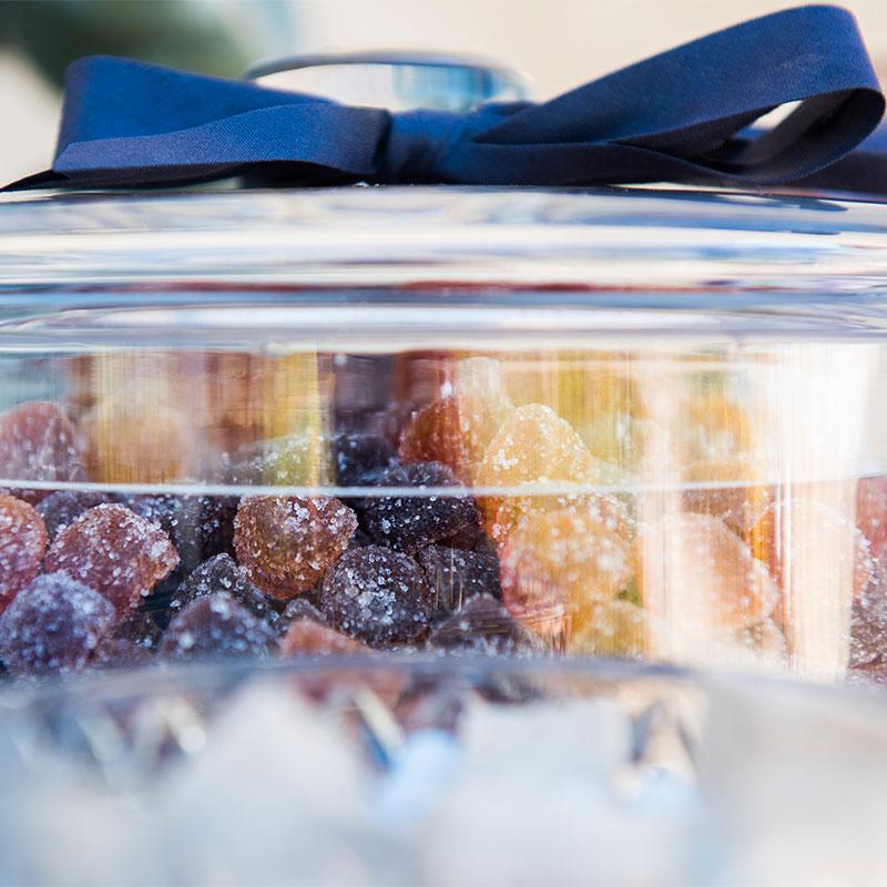 fraisettes framboise myrtilles pâte de fruits confiserie bonbons enfance régressif
