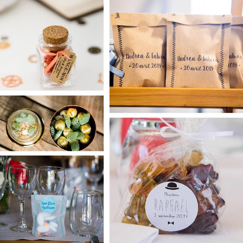 Produits personnalisables goodies mariage