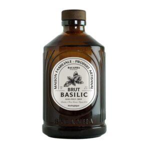 Sirop de basilic Bacanha bio