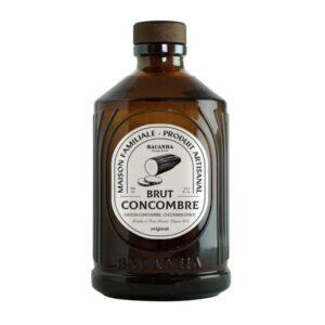 Sirop de concombre Bacanha bio lyon