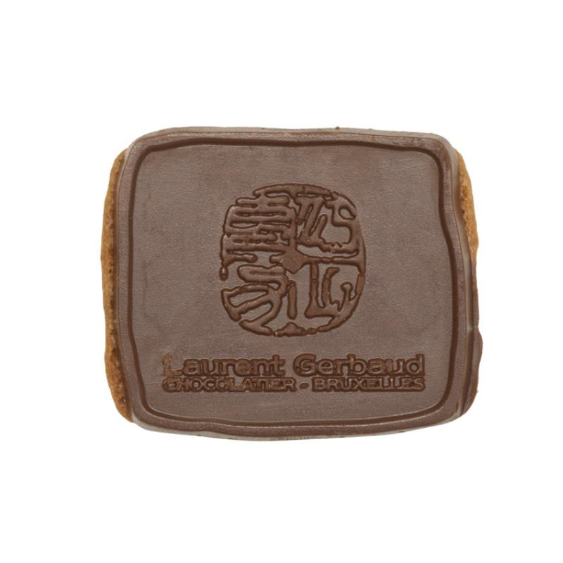 Biscuit speculoos Dandoy au chocolat noir