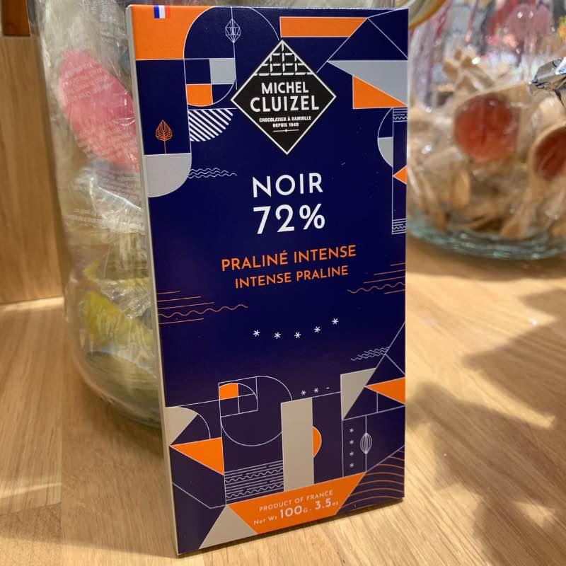 Tablette de chocolat noir Cluizel