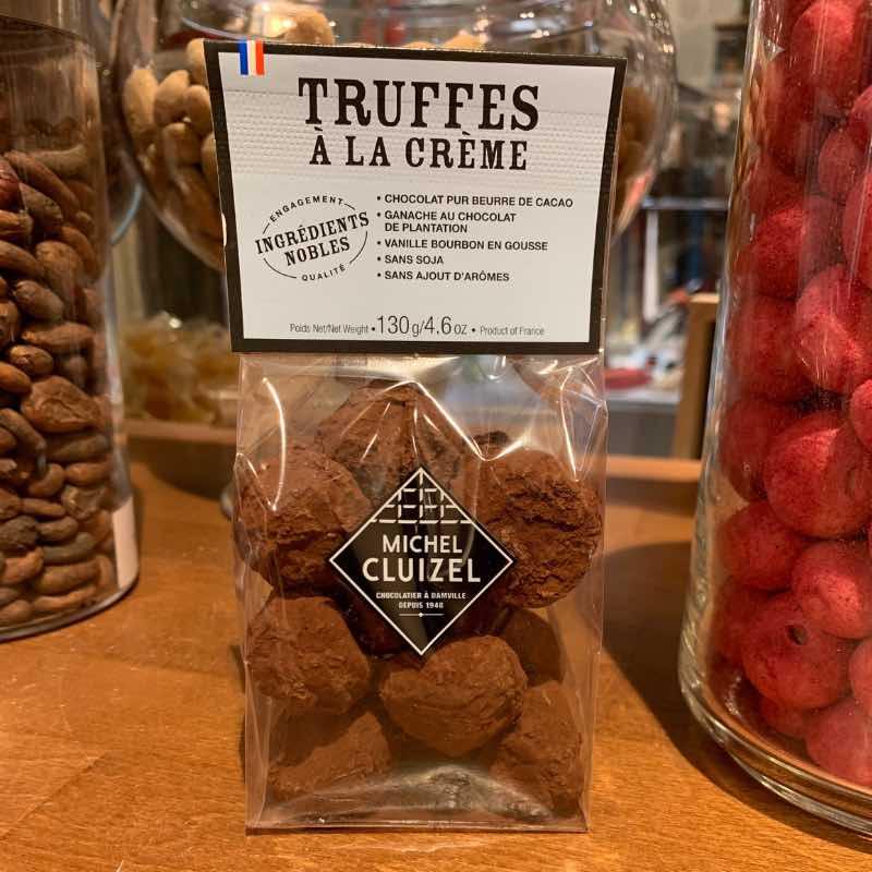 Les truffes au chocolat Cluizel