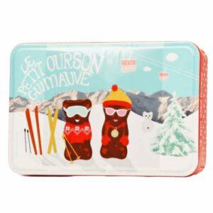 Coffret oursons guimauves ski
