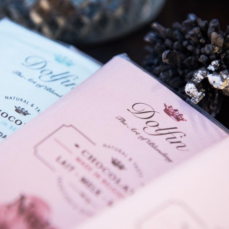 Les tablettes de chocolats Dolfin