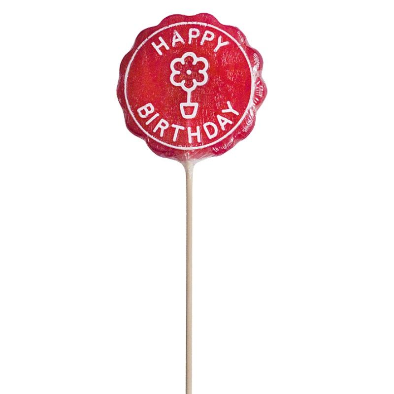 Sucette Happy Birthday pour un anniversaire délicieux et gourmand