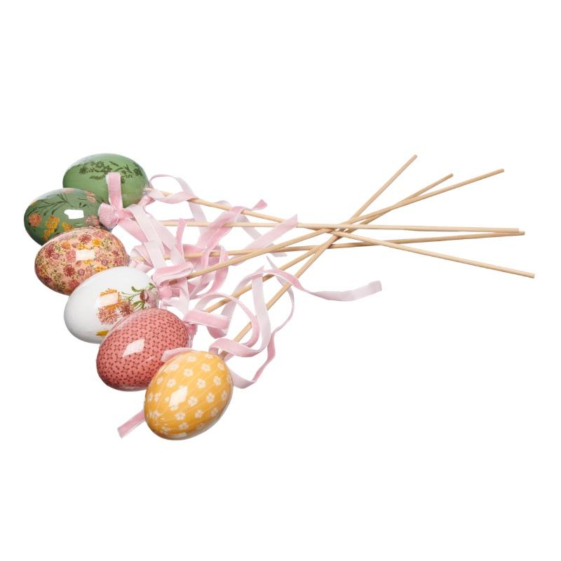Oeufs à piquer - décoration de pâques