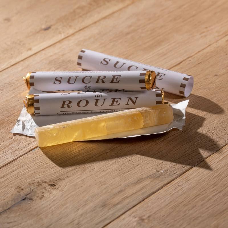 Baton Rouen, sucre de pomme vert