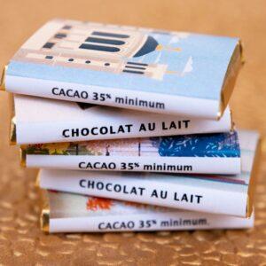 Le coffret de napolitains lyonnais : chocolat