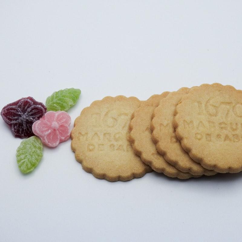 1670 Marquise de sablé - biscuit français