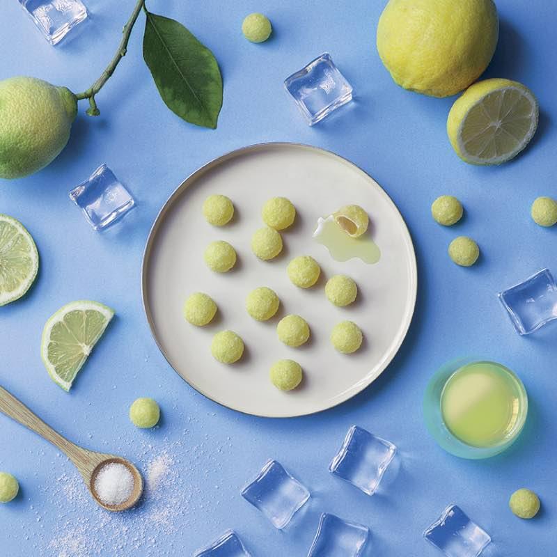 Les cristaux Limoncello citron liqueur