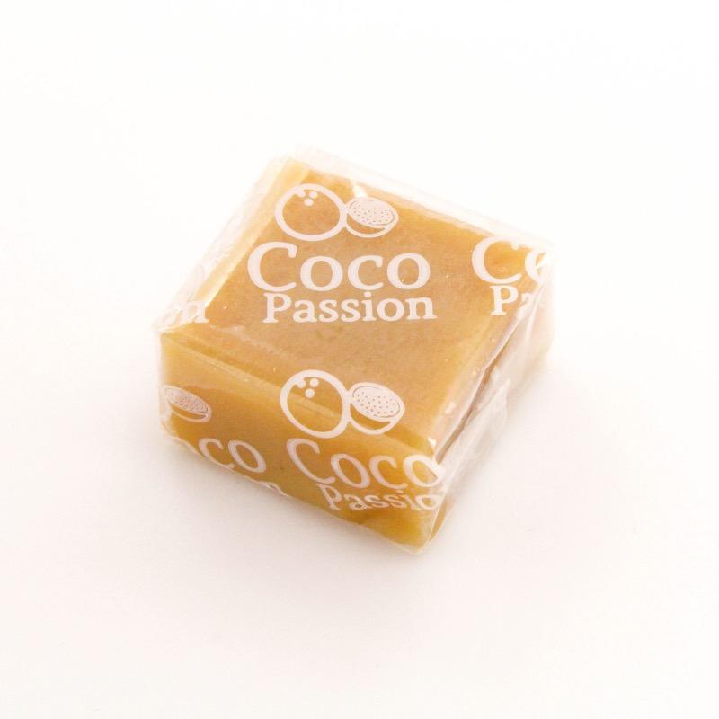 Le caramel aux fruits de la passion vegan